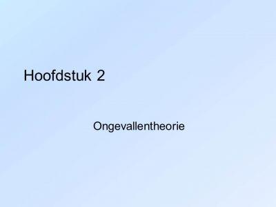 Hoofdstuk 2 - Dia1